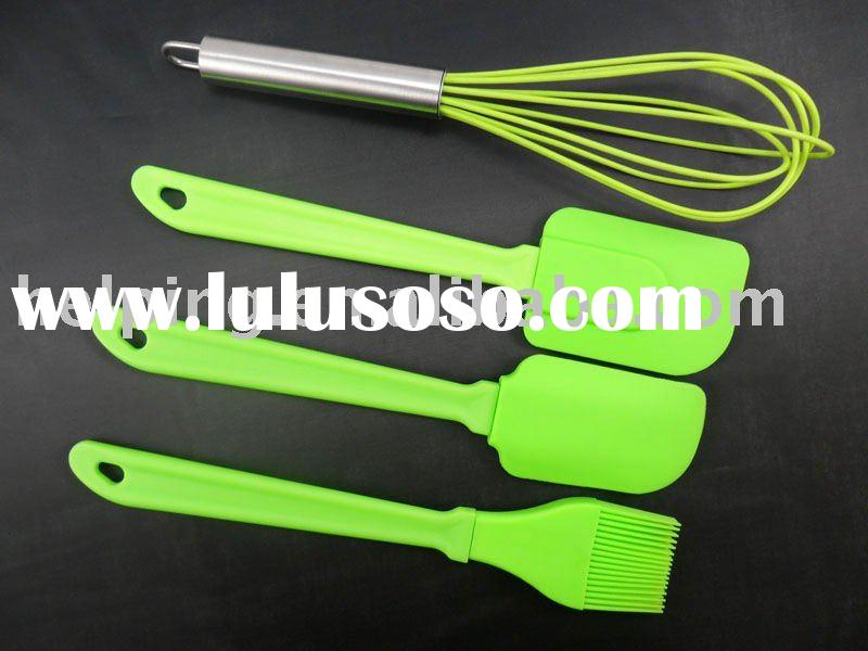 silicone kitchen utensil set, cooking tool