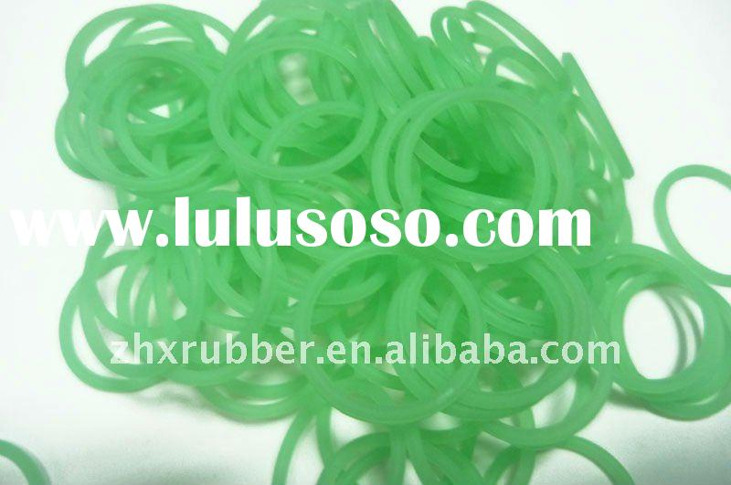 silicone o rings glow in the dark