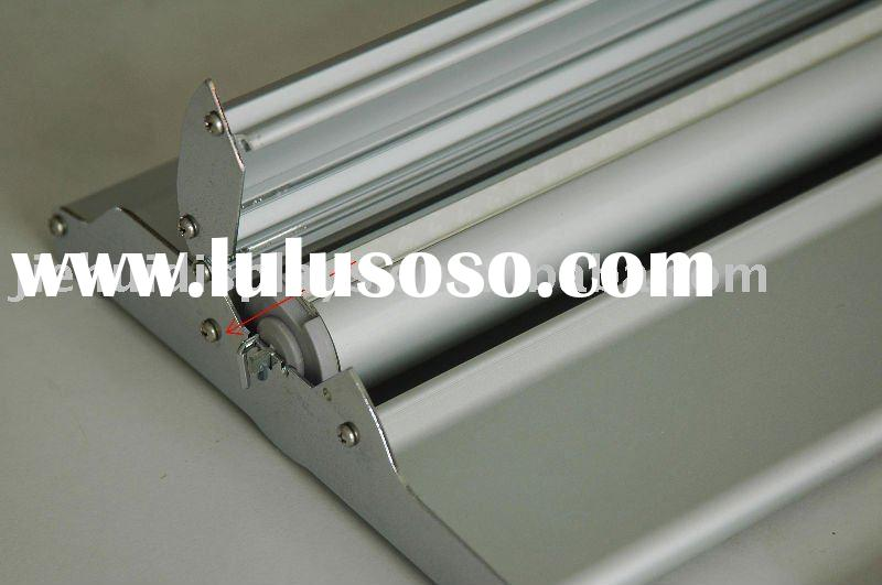 silver step roll up,retractable roll up, banner stand,roll up,aluminum roll up