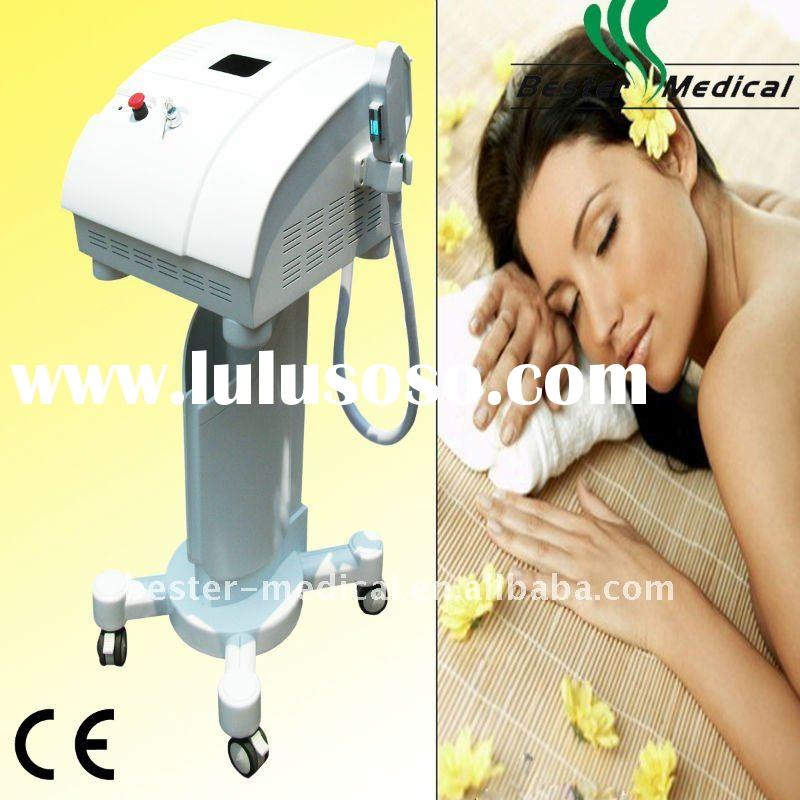 skin rejuvenation&breast lift---Portable/vertical salon spa--double handle IPL RF+Facial Cooling