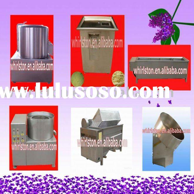 small scale potato chips making machine/potato chips making process