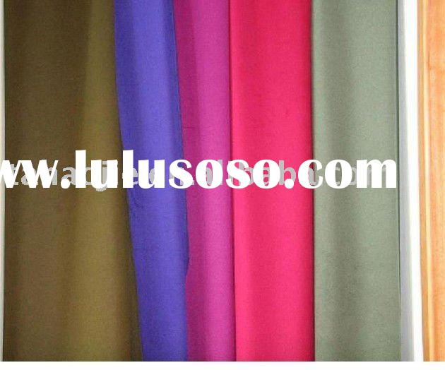 solid melton wool fabric
