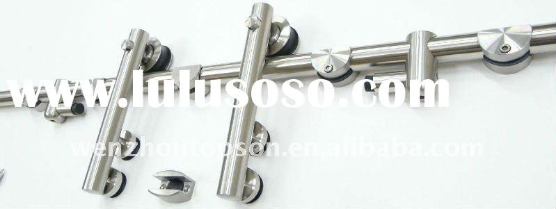 stainless steel glass sliding door kit,sliding glass door hardware