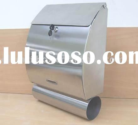 stainless steel wall mounted style mailbox GLY-522S