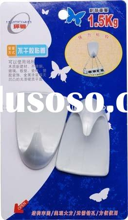 strong plastic sticky self adhesive hook