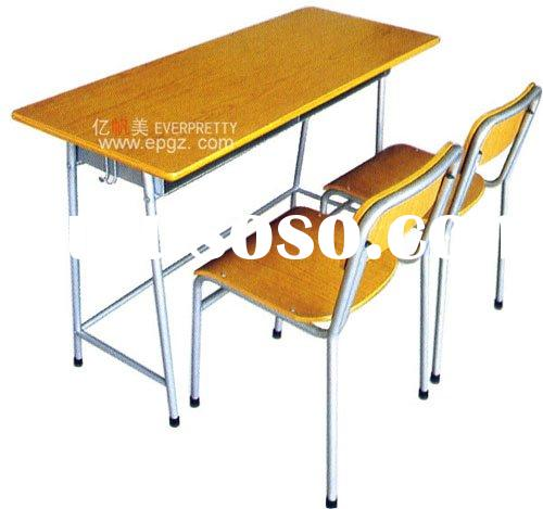 student desk&chair, school table,school chair,school desk and chair,wooden student desk,school f