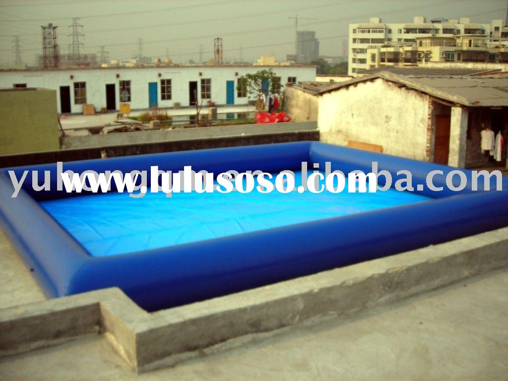 swimming pool/inflatable water game (best quality and price from factory)