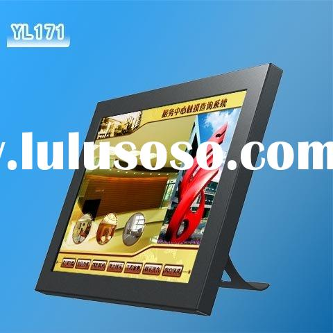 touch panel monitor/ combine with computer monitor/industrial monitor/YL 19'' flat i