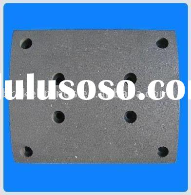 truck brake lining, benz brake liner WVA19488, heavy duty brake lining, solid brake lining