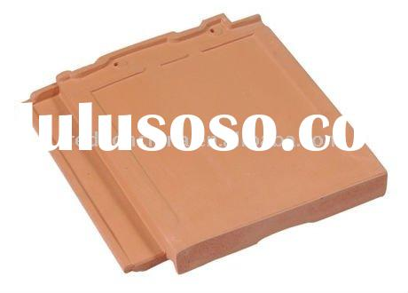 villa glazed flat clay roof tiles