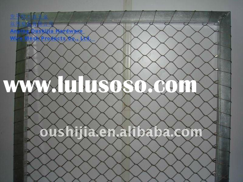zoo mesh fencing mesh animal enclosure/bird netting wire mesh/bird netting wire mesh