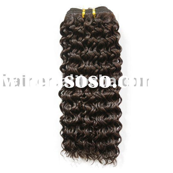 100%Human Hair Weave Jerry Curl Hair Weave 100%Remy Hair/European Hair/Artificial Hair
