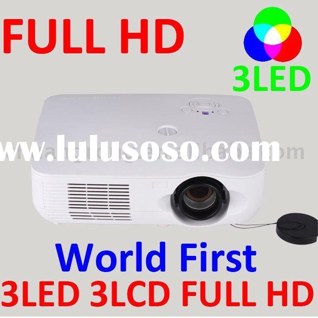 1080P 3LCD Home Cinema LED Digital TV Projector