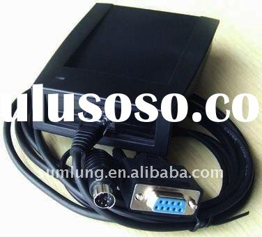125 KHz EM4100/EM4200 RFID Card Reader, RS232, copy ID card access control