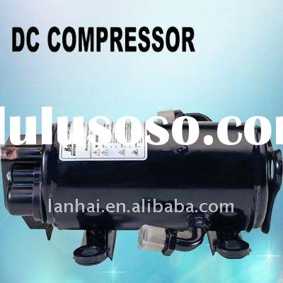 12V DC compressor for heavy truck electric car air conditioner