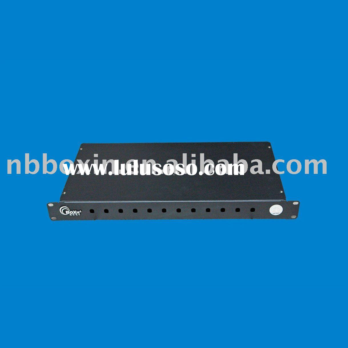 12/24/36/48/72 cores fiber optical patch panel, telecommunication accessories