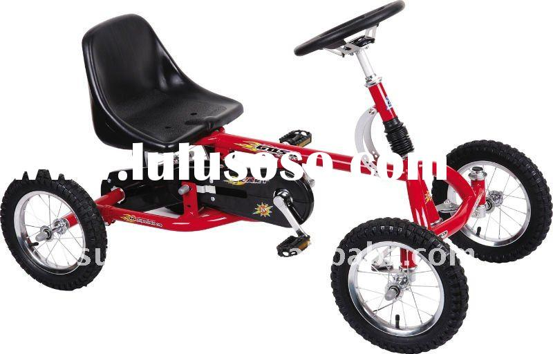 "Kid Karts For Bikes 12""kids Toys Four Wheel Bike"