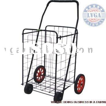 130L 4 WHEELS FOLDING SHOPPING TROLLY CART