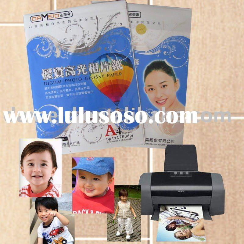 135g high glossy inkjet photo paper A4