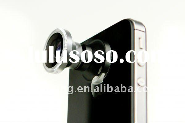 15mm Detachable 180-Degree Wide Angle Fish Eye Lens SL-FE12 for Cell Phones and iPhone 4 4G/3 3G