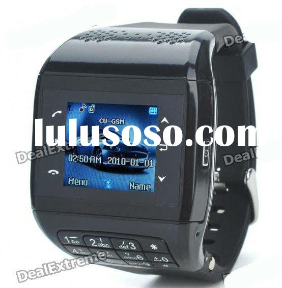 "1.3"" Touch Screen Wrist Watch Quad-band GSM Cell Phone - BlackStandby Quadband GSM Cell Phone"
