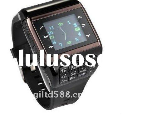 1.3 inch QVGA TFT touch screen dual sim Bluetooth watch mobile cell phone Q5 Watch phone