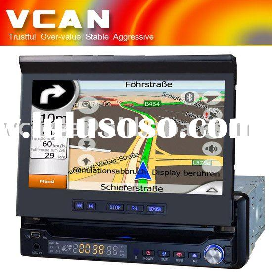 "1 Din 7"" touch screen Car GPS with DVD player"
