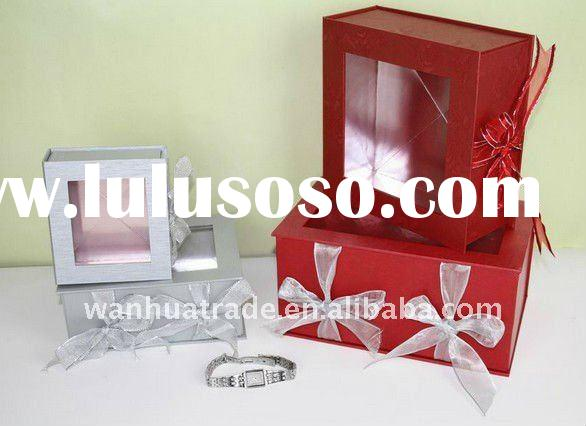 2011 High Quality Silk Unique Gift Packaging Paper Box