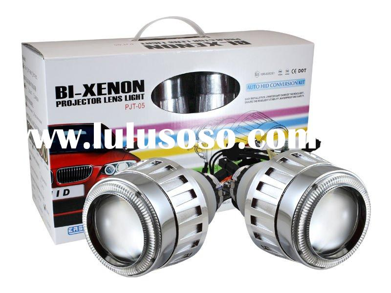 2011 Hottest HID / Auto New HID Bi-xenon Projector lens light for car/H1,H7/H4/9005/9006