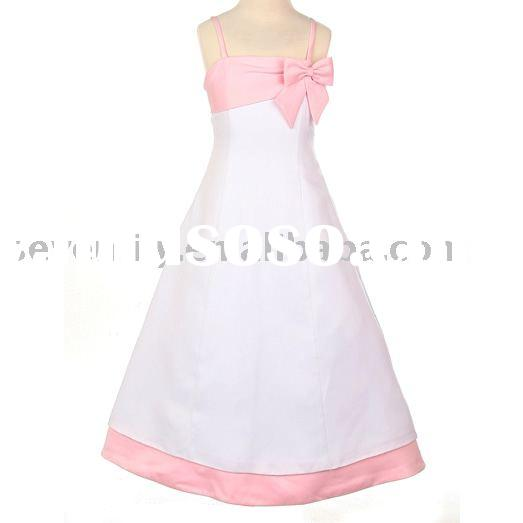 2011 New Style Most Popular Stunning Cheap Fashion Wholesale Unique Flower Girl Dress