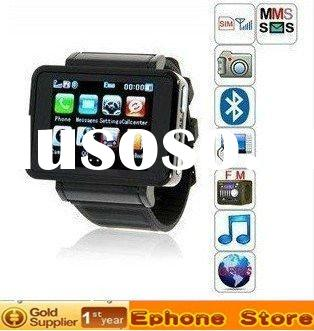 2011 New Watch Phone K1,GSM quad-band,bluetooth+1.3mp camera,FM,mp3 ,MP4 Phone with flashlight