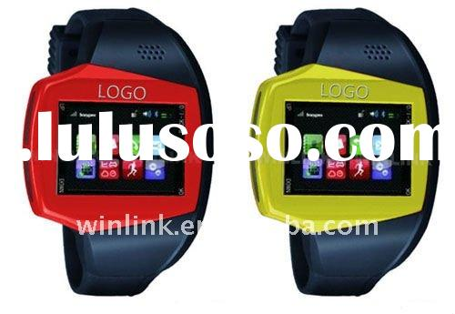 2011 Watch Mobile Phone With GPS and Bluetooth