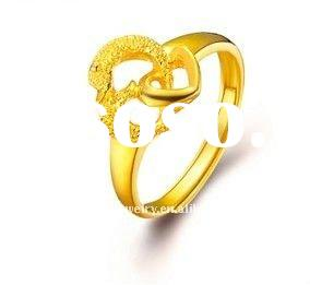 2011 best selling 18 carat yellow gold wedding rings(YGR0021)