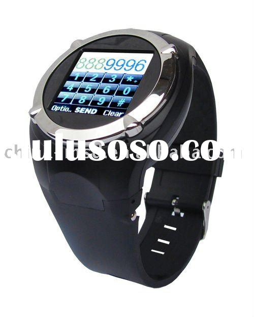 2011 cool gsm low cost wrist watch mobile phone new for sale with CE certificate