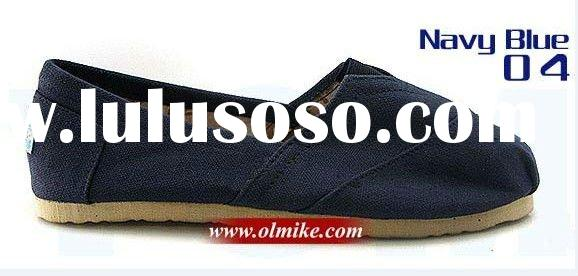 2011 fashion footwear canvas shoes for men & women MOQ 20 Pairs UCS0012_Navy Blue