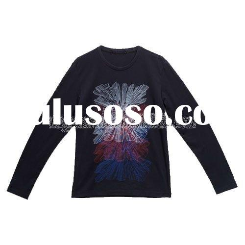 2011 fashion trend men's long sleeve spring/autumn t-shirt