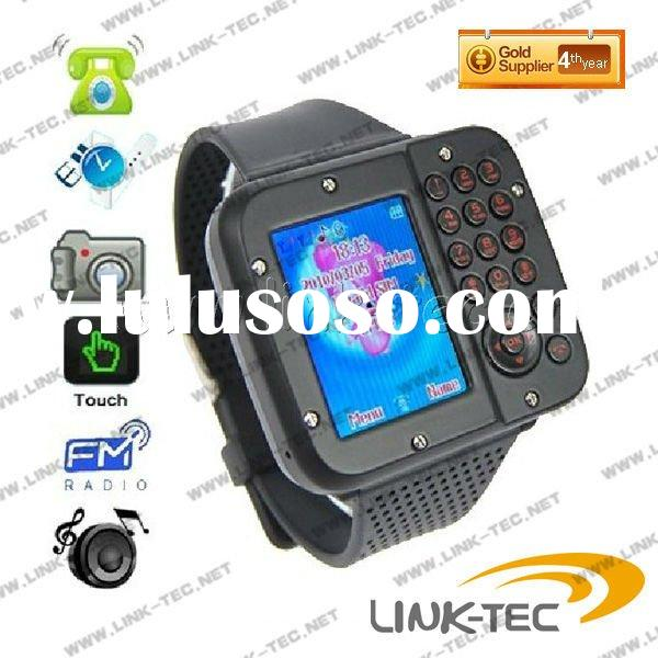 2011 hot items AK10 Dual Sim Card Dual Standby Watches Mobile Phone fashion