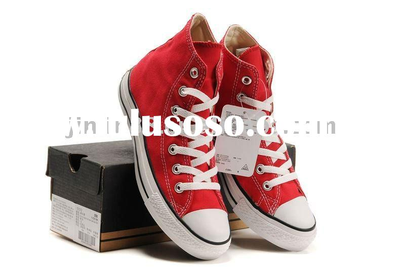2011 hot selling fashion canvas shoes for men and women