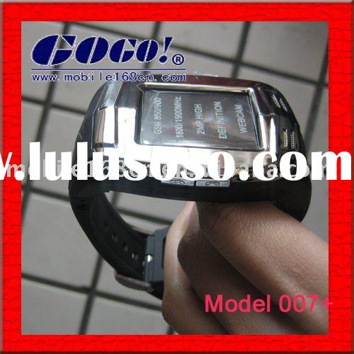 2011 new style touch screen hand watch cell phone 007+