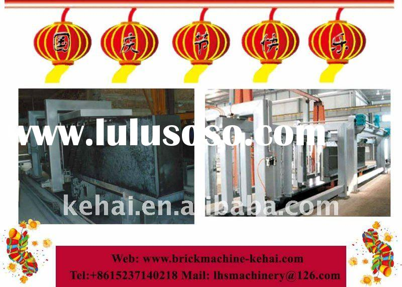 2011 new technology!!best selling sand/fly ash aac autoclave aerated concrete machine (kehai brand)