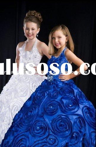 2011new style of pageant flower girl dress
