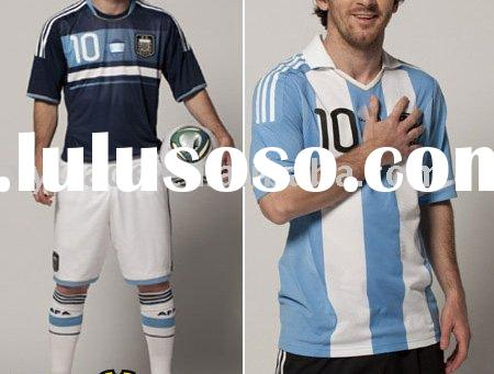 2012 Argentina MESSI 10 Home Soccer Jersey