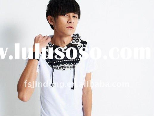 2012 Men's short sleeve t-shirt style/short t-shirt/fashion men t-shirt