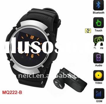 2012 NEW wrist GPS watch with Bluetooth, FM Radio , MP3 Playback, GPS Navigation and Touch Screen