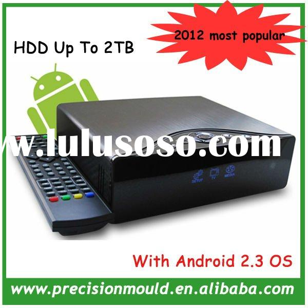 2012 New style android 2.3 internet tv set top box, 1080P Full HD media player