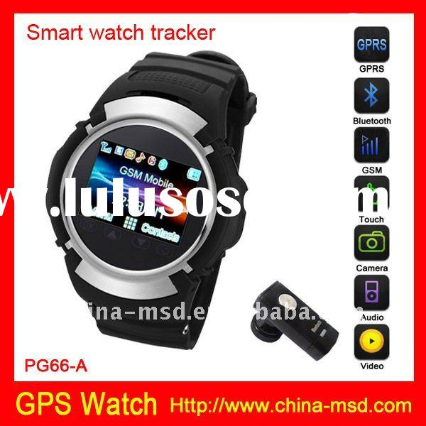 2012 Newest GPS watch tracker Quad Band Touch Screen GPS watch