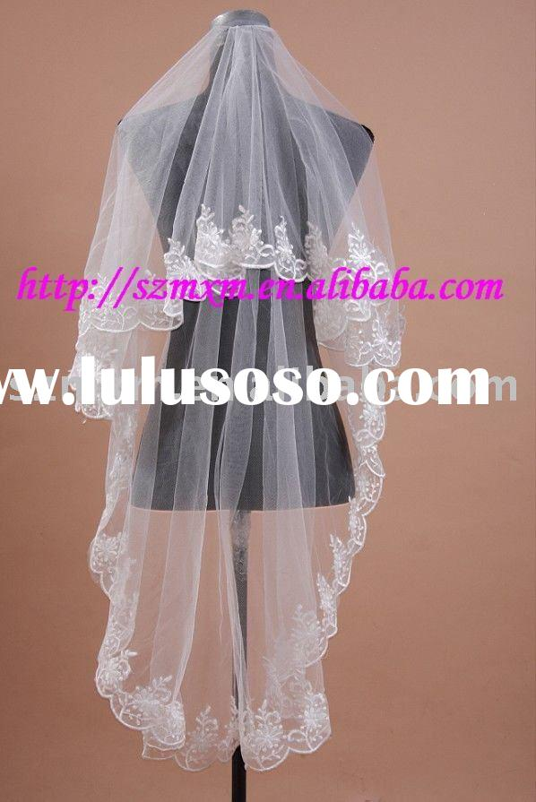 2012 RV008 high quality Christmas promtion wedding veil,first communion veil