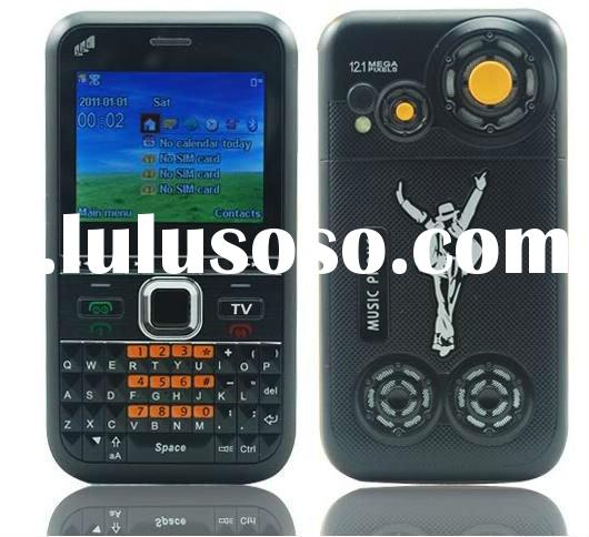 2012 Unlocked quad band 3 sim tri standby cheap TV mobile phone F31(accept paypal)