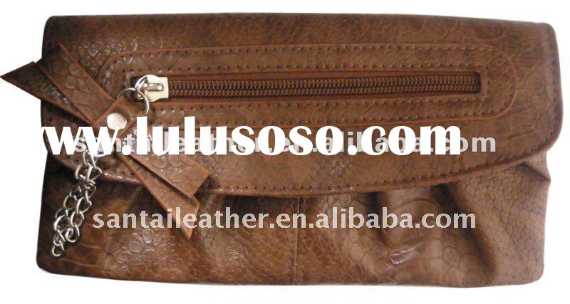 2012 fashion leather wallets ladies