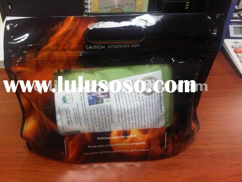 2012 hith quality & eco friendly customize stand up zip lock bag